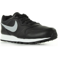 Schuhe Herren Sneaker Low Nike MD Runner 2 Leather Schwarz