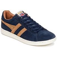 Schuhe Herren Sneaker Low Gola EQUIPE SUEDE Marine / Braun