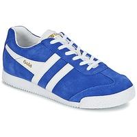 Schuhe Damen Sneaker Low Gola HARRIER Blau / Weiss