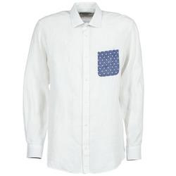 Kleidung Herren Langärmelige Hemden Serge Blanco CHACA Weiss