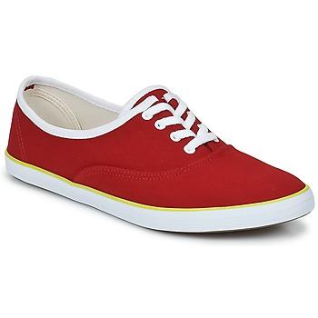 Schuhe Damen Sneaker Low Veja DERBY Rot