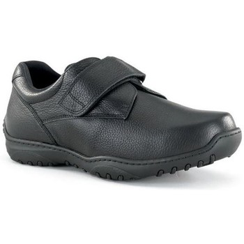 Schuhe Herren Derby-Schuhe Calzamedi breite Klettschuh 20 BLACK