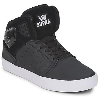 Schuhe Herren Sneaker High Supra ATOM Schwarz / Weiss