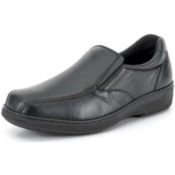 Schuhe Herren Slipper Calzamedi Mokassin  komfortabel für Vorlagen BLACK