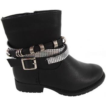 Schuhe Mädchen Low Boots Top Way B080340-B4600 Negro