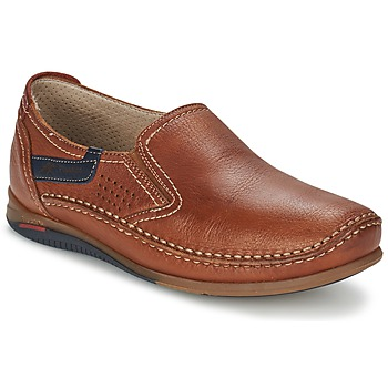 Schuhe Herren Slip on Fluchos CATAMARAN Braun