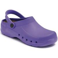 Schuhe Pantoletten / Clogs Calzamedi Unisex Clogs bequemen anatomischen pvc LILA