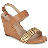 Schuhe Damen Sandalen / Sandaletten JB Martin 1OLE Camel / Goldfarben