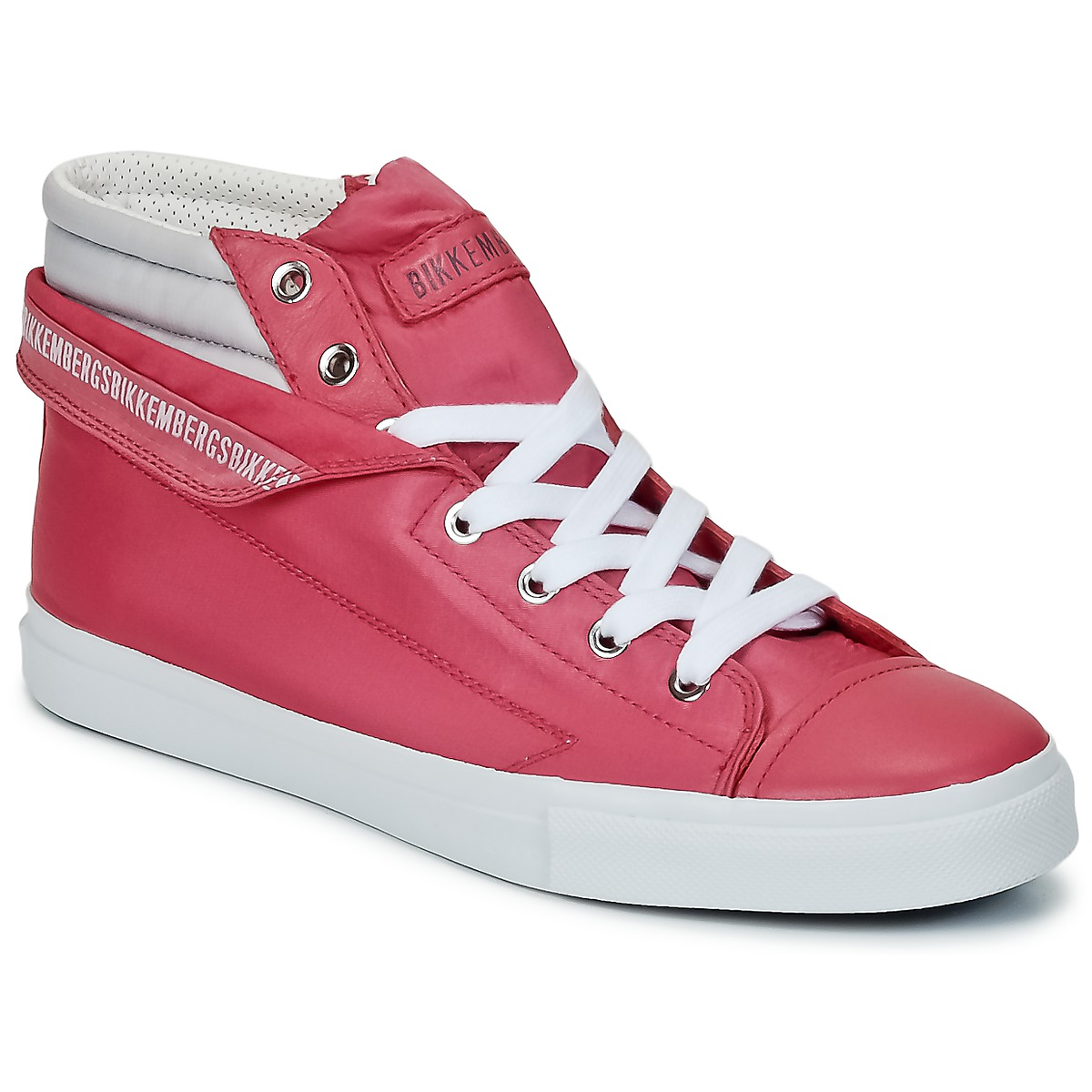 Bikkembergs PLUS 647 Pink / Grau - Kostenloser Versand bei Spartoode ! - Schuhe Sneaker High Damen 81,50 €