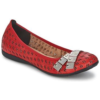 Schuhe Damen Ballerinas Un Matin d'Ete DISTRICTY Rot
