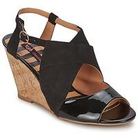 Schuhe Damen Sandalen / Sandaletten Chocolate Schubar ELVINA Schwarz