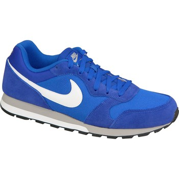 Schuhe Herren Sneaker Low Nike MD Runner II 749794-411 Blue