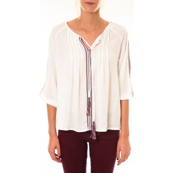 Kleidung Damen Tops / Blusen Dress Code Blouse 1645 blanc Weiss