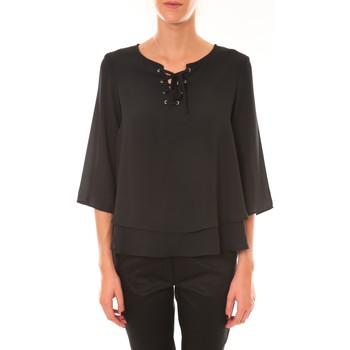 Kleidung Damen Tops / Blusen Dress Code Blouse 1652 noir Schwarz