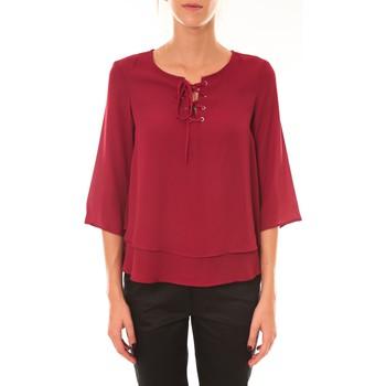 Kleidung Damen Tops / Blusen Dress Code Blouse 1652 bordeaux Rot