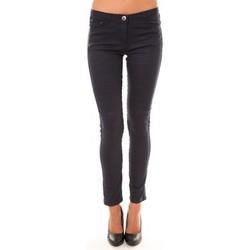 Kleidung Damen 5-Pocket-Hosen Dress Code Pantalon C601 marine Blau