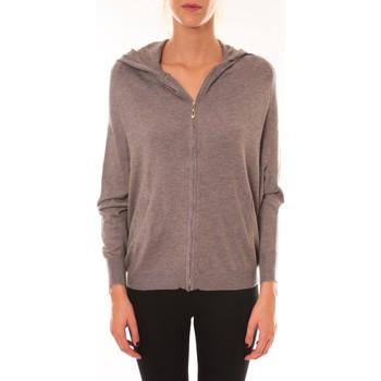 Kleidung Damen Jacken Sweet Company Sweat Company Sweat zippé L1039 marron Braun