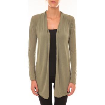 Kleidung Damen Strickjacken Vision De Reve Vision de Rêve Cardigan 8677 vert Grün