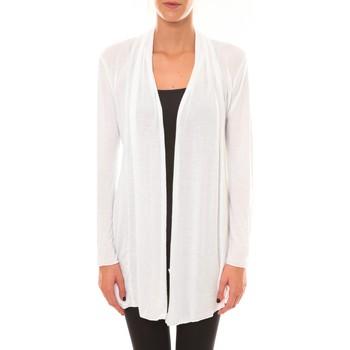 Kleidung Damen Strickjacken Vision De Reve Vision de Rêve Cardigan 8677 blanc Weiss