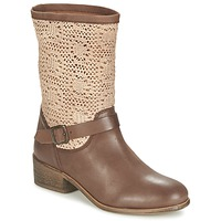 Schuhe Damen Boots Betty London CASTAGNO Braun