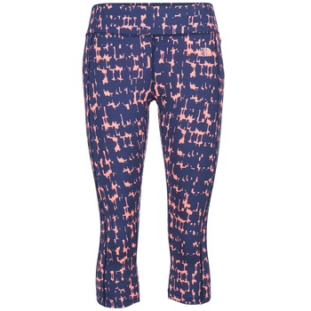 Kleidung Damen Leggings The North Face PULSE CAPRI TIGHT Marine / Rose
