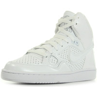 Schuhe Damen Sneaker High Nike Wmns Son Of Force Mid Weiss
