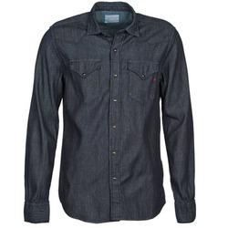 Kleidung Herren Langärmelige Hemden Replay M4860N Grau