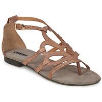 Schuhe Damen Sandalen / Sandaletten Belmondo BETSABEA Kupfer