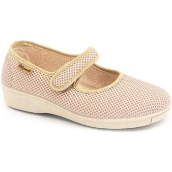 Schuhe Damen Ballerinas Calzamedi Dancers für orthopädische Einlagen BEIGE