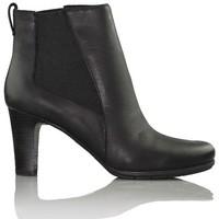 Schuhe Damen Ankle Boots Rockport bequeme Stiefel für Frauen. SCHWARZ