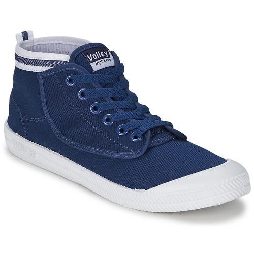 Sneaker Volley HIGH LEAP Navy / Weiss 350x350