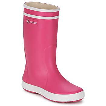 Stiefel Aigle LOLLY-POP Rose / Weiss 350x350