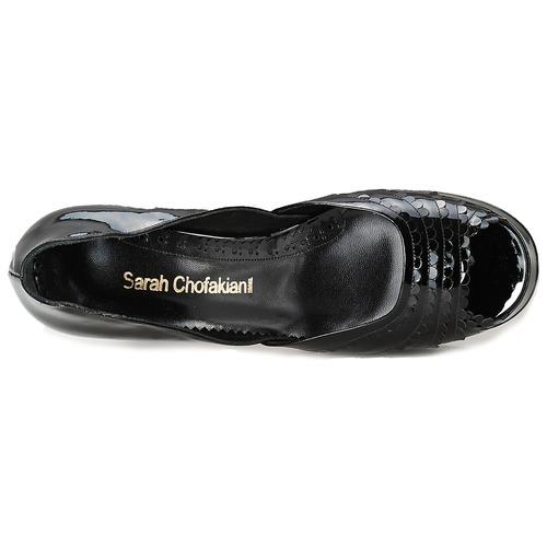 Sarah Chofakian CAFE Schwarz Schwarz Schwarz  Schuhe Pumps Damen 327,20 bfe5bc