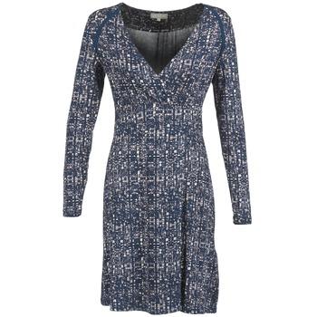 Kleidung Damen Kurze Kleider Cream OMAGA Blau