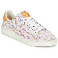 Schuhe Damen Sneaker Low Pepe jeans CLUB FLOWERS Weiss