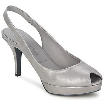 Schuhe Damen Pumps Kennel + Schmenger FULDA Grau