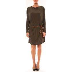 Kleidung Damen Kurze Kleider Dress Code Robe 53021 vert Grün