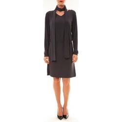 Kleidung Damen Kurze Kleider Dress Code Robe 88158 marine Blau