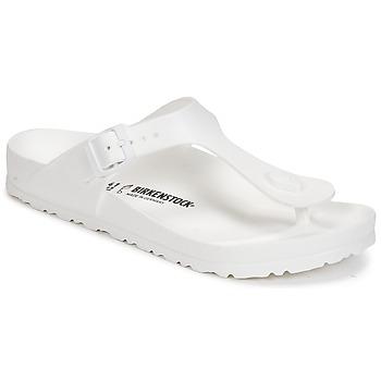 Schuhe Damen Zehensandalen Birkenstock GIZEH EVA Weiss