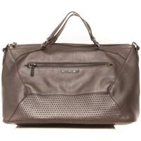 Taschen Damen Handtasche Thierry Mugler Sac Folie 2 GUN Braun