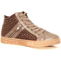 Schuhe Damen Sneaker High Cassis Côte d'Azur Baskets Champion or Gold