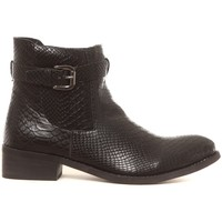 Schuhe Damen Boots Cassis Côte d'Azur Bottines Hiro noir Schwarz