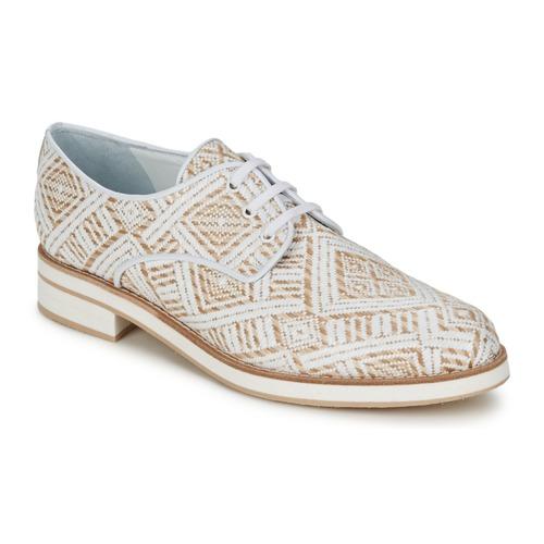 Schuhe Damen Derby-Schuhe Stéphane Kelian HUNA 7 Weiss