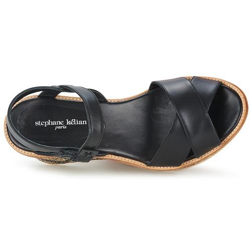 Stéphane Kelian BELLA 7 Schwarz Sandaletten  Schuhe Sandalen / Sandaletten Schwarz Damen 276,50 22084f