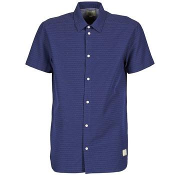 Kleidung Herren Kurzärmelige Hemden Suit DAN S Blau
