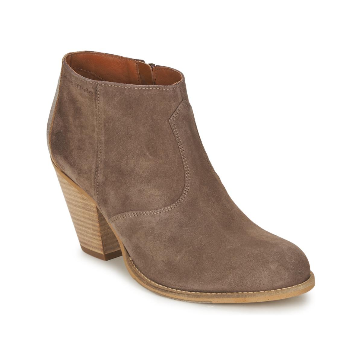 Marc O'Polo  Braun - Kostenloser Versand bei Spartoode ! - Schuhe Low Boots Damen 84,50 €