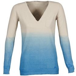 Kleidung Damen Pullover Gas DESHI Beige / Blau