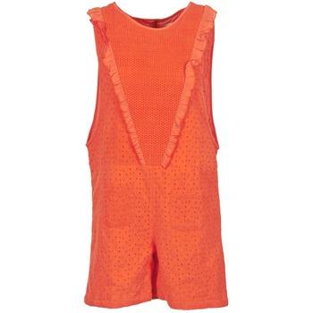 Kleidung Damen Overalls / Latzhosen Brigitte Bardot BB44084 Korallenrot