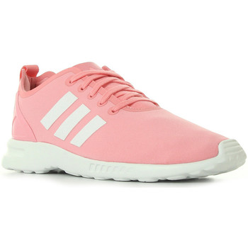 Schuhe Damen Sneaker adidas Originals ZX Flux Smooth W Rose