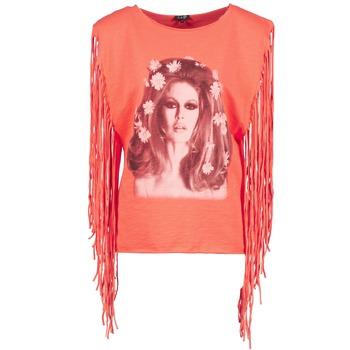 T-Shirts & Poloshirts Brigitte Bardot BB44075 Korallenrot 350x350